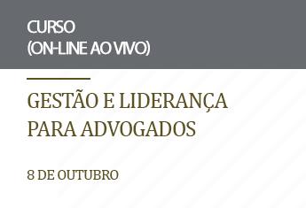 Gestão e Liderança para Advogados (on-line)