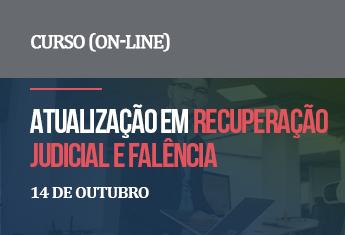 Atualização em recuperação judicial e falência (on-line)