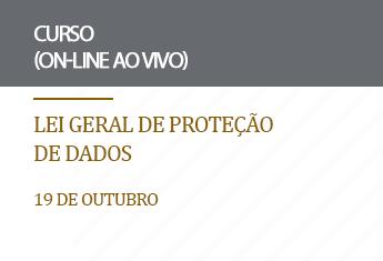 Lei Geral de Proteção de Dados (on-line)_outubro