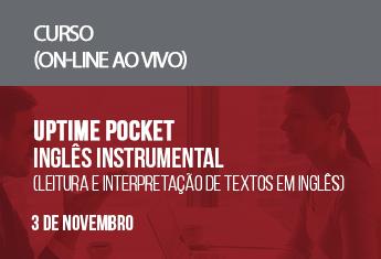 UPTIME Pocket  Inglês Instrumental (leitura e interpretação de textos em inglês) (on-line)