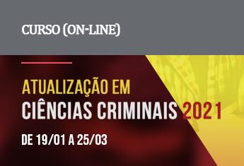 Atualização em Ciências Criminais (on-line) - janeiro