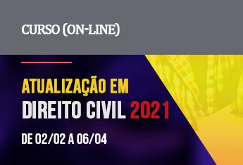 Atualização em Direito Civil (on-line) - Janeiro