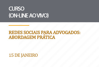 Redes Sociais para Advogados: abordagem prática - on-line