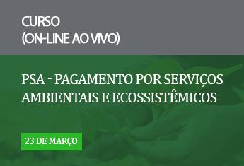 PSA - Pagamento por Serviços Ambientais e Ecossistêmicos online_mar_21