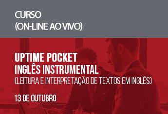 UPTIME Pocket  Inglês Instrumental (leitura e interpretação de textos em inglês)