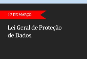 LEI GERAL DE PROTEÇÃO DE DADOS - (ON-LINE )