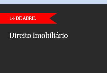 CURSO DE DIREITO IMOBILIÁRIO - (ADIADO)